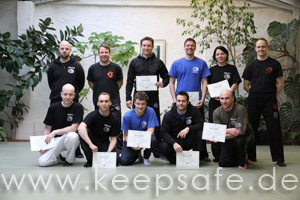 IKMF Level Test KEEPSAFE Krav Maga München