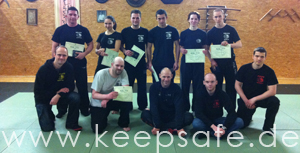IKMF Krav Maga Keepsafe Grading in Berlin Maerz 2013