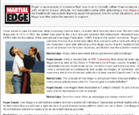 Martial Edge Interview mit Krav Maga Instructor Roger Ennals